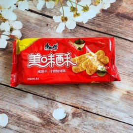 康师傅美味酥咸饼干 什锦烧烤味 85G