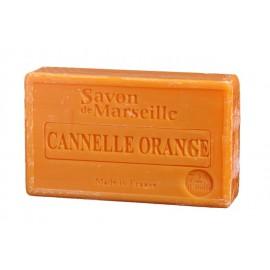 SAVON DE MARSEILLE 100G-CANNELLE ORANGE