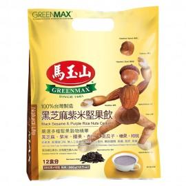 台湾原产热销马玉山黑芝麻紫米坚果饮 30G×12包入