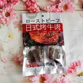 休闲列车日式烤牛肉 香辣味 60G