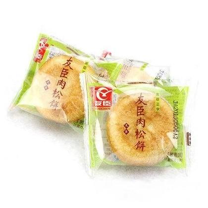 (买10赠2)友臣肉松饼 葱香味 30G