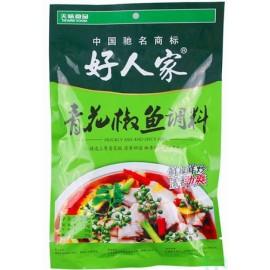 (好人家混合买6送1→赠送油焖小龙虾)好人家 青花椒鱼调料 210G