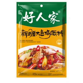 (好人家混合买6送1→赠送油焖小龙虾)好人家 新疆大盘鸡 180G