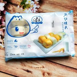 (仅限满69欧起CHRONO快递)味美 全麦奶香刀切馒头 400G(16个装) 周一至周四发货