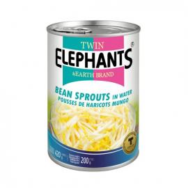 泰国原产TWIN ELEPHANTS清水豆芽 420G