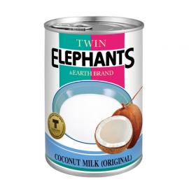 泰国原产TWIN ELEPHANTS椰奶 400ML