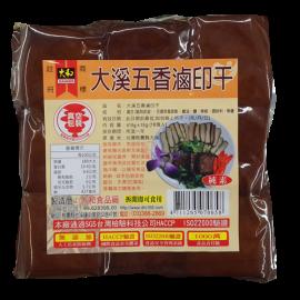 台湾原产 大和大溪 五香 卤印干 豆干香干 415G