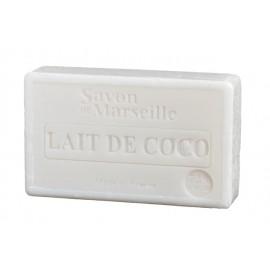 SAVON DE MARSEILLE 100G-LAIT DE COCO