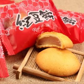 台湾热销皇族 红豆麻糬饼 红豆饼 240G