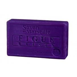 SAVON DE MARSEILLE 100G-FIGUE RAISIN