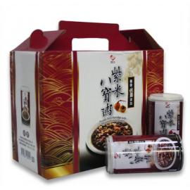 巧口 紫米八宝粥礼盒装 350G*12