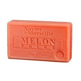 SAVON DE MARSEILLE 100G-MELON POIRE