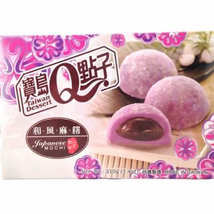 台湾原产和风麻糬-紫芋口味210g
