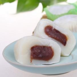 台湾宝岛Q点子和风麻糬 红豆味210G