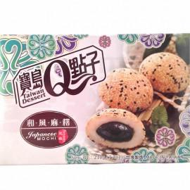 台湾宝岛Q点子和风麻糬 芝麻味210G