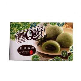 (卖光啦)台湾宝岛Q点子和风麻糬 抹茶味210G