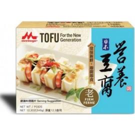 (卖光啦)日本MORINAGA森永 无防腐剂营养老豆腐 340G