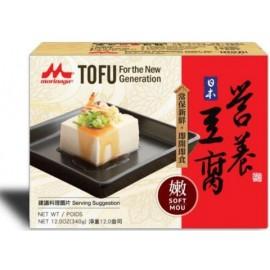 (卖光啦)日本MORINAGA森永 无防腐剂营养嫩豆腐 340G