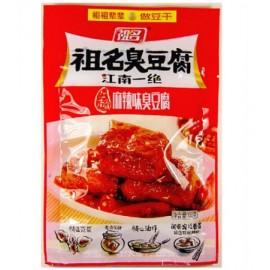 (卖光啦)祖名臭豆腐 豆干 麻辣味 100G