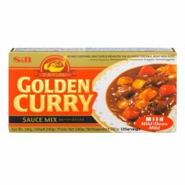 MÉLANGE POUR SAUCE CARI GOLDEN CURRY SB(MILD/DOUX) S&B 92G