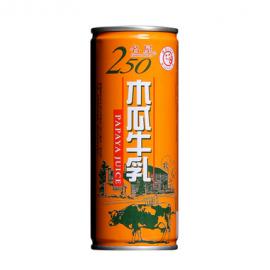 台湾名屋 木瓜牛乳 250ML