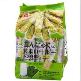 台湾原产北田 蒟蒻糙米棒 海苔味160G
