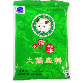 (卖光啦)小肥羊 清汤火锅底料 130G