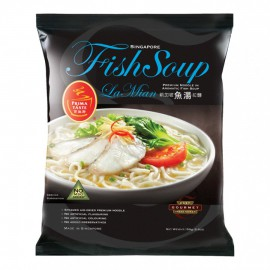 (卖光啦)百胜厨新加坡鱼汤拉面单包装154G