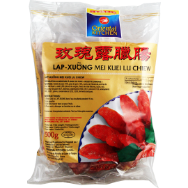 SAUCISSES CHINOISES  SAVEUR MEI KUEI LU CHIEW  ORIENTAL KITCHEN 500G
