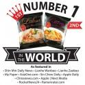全球排名第一百胜厨新加坡Laksa沙拉面185G