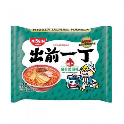 香港日清出前一丁 极辛猪骨汤面100g