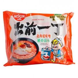 香港日清出前一丁 北海道味增猪骨汤面100G