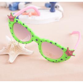 儿童趣味眼镜  小皇冠卡通眼镜 混色 适合4岁以下小朋友