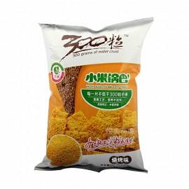 高妆300粒 小米锅巴 烧烤味 60G