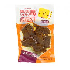 (卖光啦)香香嘴卤制豆腐干 豆干烧烤味 100G