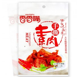 香香嘴手撕素肉 火爆香辣味 112G