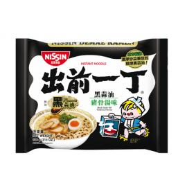 (卖光啦)香港日清出前一丁 黑蒜油 猪骨汤面 100G
