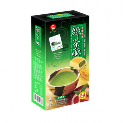 台湾原产 九福盒装绿茶酥 200G