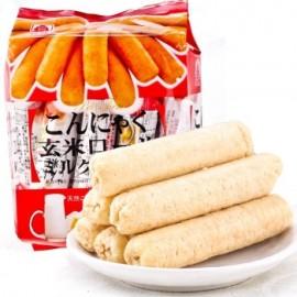 台湾原产北田 蒟蒻糙米棒 牛奶口味160G