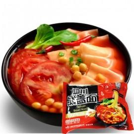 四川 正宗白家阿宽铺盖面 番茄酸汤味105G