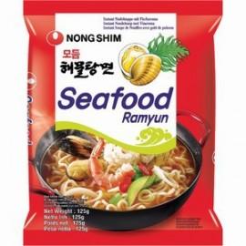 买十赠一 韩国农心 海鲜浓汤拉面125G (共11袋)