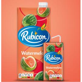 瑞典热销RUBICON 西瓜汁1L
