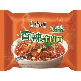 (卖光啦)康师傅 香辣牛肉面 99G