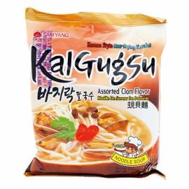 韩国SAMYANG 三养蜆貝海鲜风味麵 100G