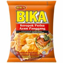 马来西亚BIKA 佰佳烧烤鸡味酥60G