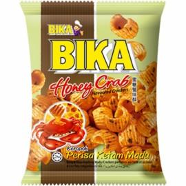 马来西亚BIKA 佰佳蜜糖蟹味酥70G