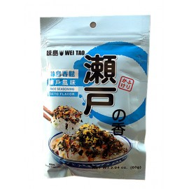 台湾人气热销味岛香松 濑户风味 60G