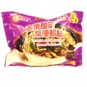 (卖光啦)白家粉丝 老坛酸菜味 110G