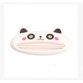 创意可爱卡通手动挤牙膏器 白熊猫