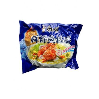 康师傅 鲜虾鱼板面 96G